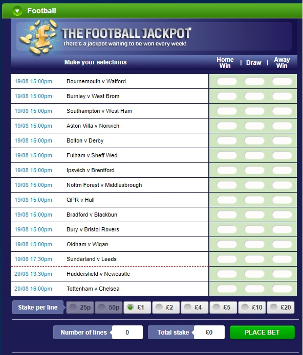 Enter Coral's Football Jackpot To Win Your Share Of A Big