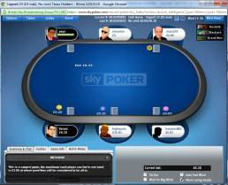 Sky Poker Cash Games