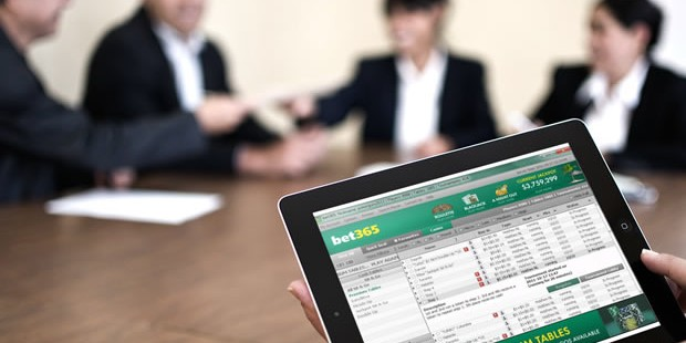 Why work? Play at bet365