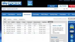 Freerolls Available Sky Poker