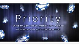 Sky Poker Priority Club Facts