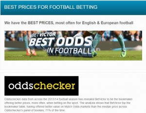 BetVictor Soccer Betting