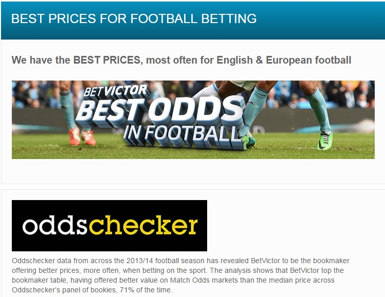 Time To Take Another Look At BetVictor's Football Value