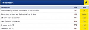 Sky Bet Price Boost Pic