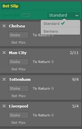 Bet365 Banker Bets