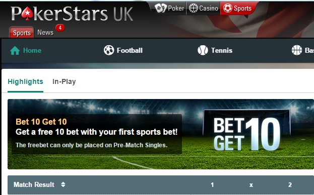 Sports betting pokerstars login northern ireland league cup betting tips