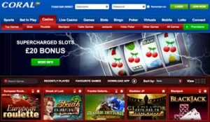 coral casino bonus