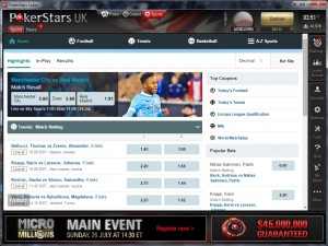pokerstars sports offer