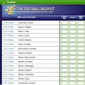 Coral Football Jackpot Game
