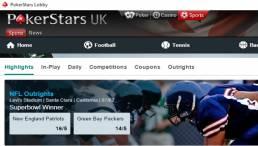 PokerStars Sports NFL College Football Bets