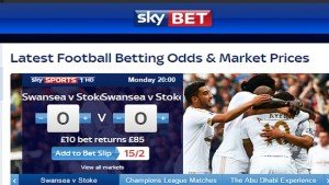 SkyBet Football Betting