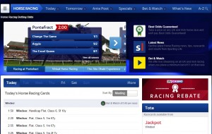 SkyBet Horseracing betting