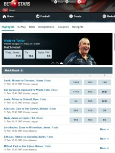 BetStars Darts