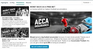 BetStars Acca Insurance