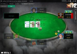 Bet365 Six Plus Table