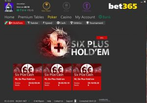 Six Plus Holdem Bet365