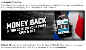 BetStars Spin and Bet Special