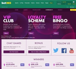 Bet365 Bingo Community