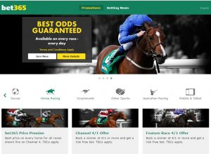 Bet365 Horseracing Promotions