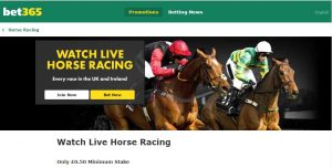 Bet365 Live Streaming Horseracing