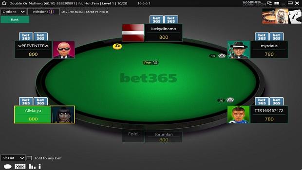 Bet365 poker premium tables sunset slots login