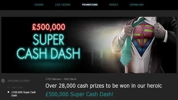 Super casino bonus codes 2018